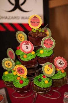 Cupcakes are included in every party to match the theme!