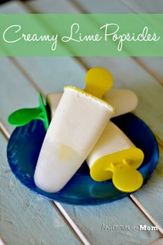 Creamy Lime Popsicles