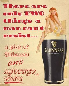 I chose this ad for Guinness because I liked its display of serif typography that makes it look very vintage and the biggest font is an example of a monospaced font.