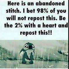 Poor stich...