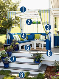 Get This Look - Cozy Outdoor Room - 8 tips from Remodelaholic