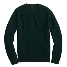 Wool-cashmere solid waffle sweater