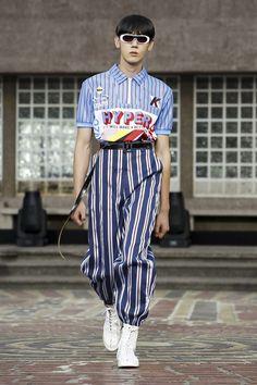 Kenzo Menswear Spring Summer 2018 Paris