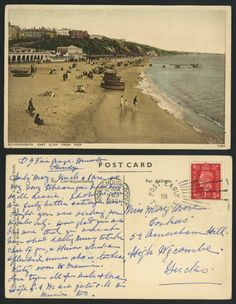 vintage bournemouth. england