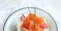 Un cheesecake au saumon fumé