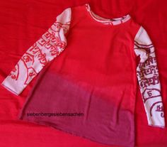 Sommerkleid für's Kind aus Mutters Langarmshirt