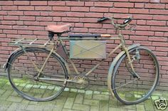 German WW2 military wehrmacht ss PUCH bicycle restored , very rare Truppenrad (06/19/2012)