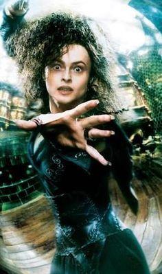 Cray cray Helena Bonham Carter as cray cray Bellatrix Lestrange