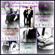 **OUR 5 STAR SERIES REVIEW for THE THOMAS ELKIN SERIES by N.R. Walker is up. This book was everything we could have hoped for! A beautiful, passionate story with a perfect mix of humour, emotion and love all told so honestly and beautifully without unnecessary angst or drama. Genre: MM - Links and order below:  **Link to our REVIEW -> http://wp.me/p2WbFf-4aS