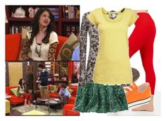 """Selena Gomez as Alex Russo"" by jc10 ❤ liked on Polyvore featuring Disney, Converse, Gap, G.Girl, Dorothy Perkins, alex russo, wowp, selena gomez, wizards of waverly place and alex's spring fling"