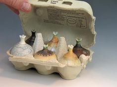 Geoffrey Swindell Remember your friend who made the tiny pots?