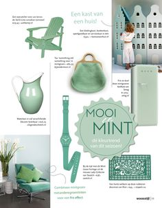 Mooi en mint Pistachio, Shades Of Green, Favorite Color, Jade, 1950s, Turquoise, Sea, Future, Bedroom