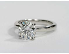 2.03 Carat Diamond Classic Comfort Fit Solitaire Engagement Ring | Recently Purchased | Blue Nile