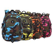 Birincil öğrencilerin sırt, çocuk okul çantaları camo, çocuklar okul çantası, genç erkek kız okul çantası, kitap çantası omuz çantası(China (Mainland))