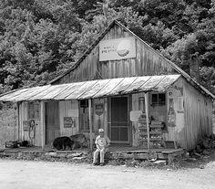 Old country store in Kentucky
