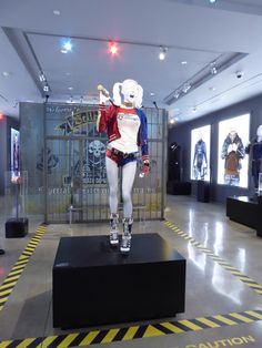 Harley Quinn Suicide Squad movie costume exhibit