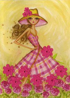 bella pilar  fashion illustration