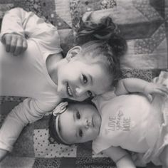 Lucy and Viv - kids, sisters, girls, grandkids, family, love, smiles