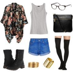 Outfit Ideas:  A Polyvore set inspired by our Tuesday Trend Report: http://blog.bonlook.com/post/73307673455/tuesday-trend-report Featuring our black tie tweed Chatty Cathy: https://www.bonlook.com/eyewear/chatty-cathy#Black-Tie Tweed  #BonLook #BonLookBlog #ChattyCathy #TuesdayTrendReport #OOTD
