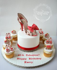 Louboutin Shoe Cake by The Clever Little Cupcake Company