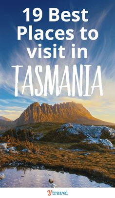 19 Best Places to Visit in Tasmania Take your time exploring Australia's smallest state. Here are 19 best places to visit in Tasmania. Perth, Brisbane, Melbourne, Tasmania Road Trip, Tasmania Travel, Australian Road Trip, Australian Beach, Australia Travel Guide, Visit Australia