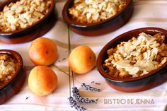 Crumble abricots caramélisés