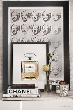 Chanel poster by Petite Charlie
