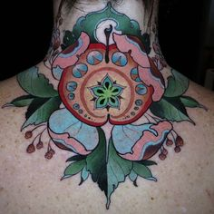 just finished up on Janie, day one of the @pagodacitytattoofest ...thanks for such a rad idea!  #anappleaday