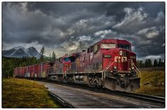 Freight trains...