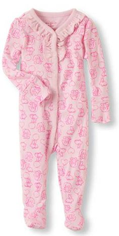 1bd92b8e82 The Children s Place Recalls Footed Pajamas Due to Violation of Federal  Flammability Standard - The footed