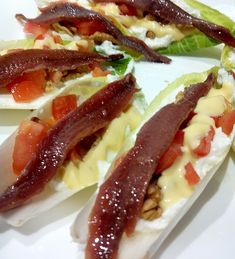 Sauces, Canapes, Salad Dressing, Summer Recipes, Salad Recipes, Catering, Food To Make, Bacon, Food And Drink