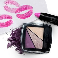 We love bright lips and bold eyes. #AvonMakeup from AvonInsider
