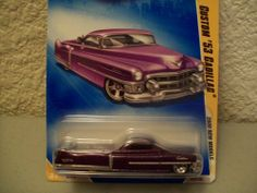 Hot Wheels 2009 New Models Purple Custom 53 Cadillac 1:64 Scale by Mattel. $0.01