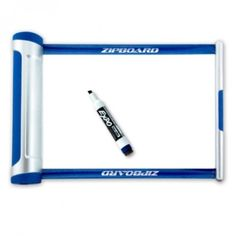 Zipboard //  Portable, Retractable Whiteboard  (versions for lacross, volleyball, football, basketball and a blank version)