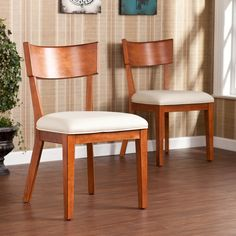Upton Home Marlee Dining Chairs (Set of 2) - Overstock™ Shopping - Great Deals on Dining Chairs