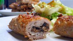 Пять начинок для МЯСНЫХ ПАЛЬЧИКОВ. Ваши гости будут в восторге! - YouTube Baked Pork, Baked Potato, Ukrainian Recipes, Potatoes, Beef, Chicken, Baking, Ethnic Recipes, Food