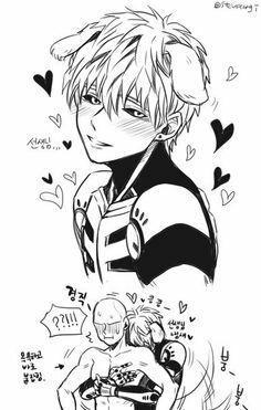 One Punch Man - Genos&Saitama Saitama One Punch Man, One Punch Man Anime, One Punch Man 3, One Punch Man Funny, Fanarts Anime, Manga Anime, Genos X Saitama, Types Of Boyfriends, Levi X Eren