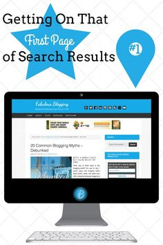 Getting on that first page of results for your blog posts!