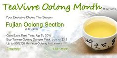 Oolong Month- Your Exclusive Choice This Season