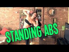 Standing abs: no mat needed