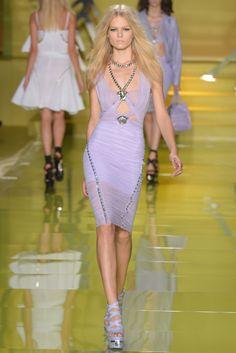 Versace RTW Spring 2014 - WWD.com