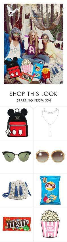 """Best friend goals"" by miloni-jhaveri on Polyvore featuring Wildfox, Gucci, Ted Lapidus, Sophie Anderson and Pôdevache"