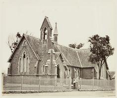 St John's Church schoolhouse,Glebe in Historical Images, Historical Sites, St John's Church, Port Arthur, Old Churches, History Teachers, Sydney Australia, Tasmania, Colleges