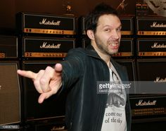ニュース写真 : Musician Paul Gilbert attends the 2011 NAMM Show...