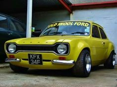 Breathed on Ford Escort Escort Mk1, Ford Escort, Ford Capri, Ford Rs, Car Ford, Retro Cars, Vintage Cars, British Sports Cars, British Car
