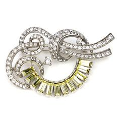 The Crystal Collage Collection Measurements: x Metal: Silver-tone Metal Swarovski Crystal Made in the USA Spring Has Sprung, Swarovski Crystals, Most Beautiful, Collage, Brooch, Deco, Usa, Yellow, Metal