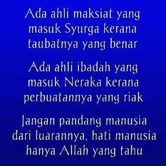 #tazkirah #islam