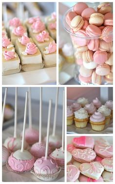 Nix the Candy Buffet and Do a Stylish Petite Dessert Station | A Perfect Setting