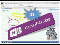 Video corso Microsoft Onenote 2013. Illustrazione dell'interfaccia dell'applicazione.