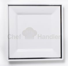 """For a trendy departure from traditional dinnerware, serve your menu items on this white square chic and contemporary plate. With the square shape, you will be able to create eye-catching displays for your contemporary dining room.Bundle Includes :  9 Box 7.5"""" Salad Plates - 450pcs 9 Box 10.25"""" Dinner Plates - 450pcs 2 Box Silverware Combo 360 Pack - 160 Forks, 140 Spoons, 60 Knifes   2 Box Silverware Combo 240 Pack - 120 Forks, 80 Spoons, 40 Knifes. ONLY $398.48"""